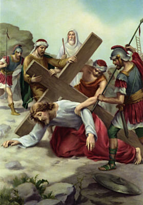 Station of the Cross 07