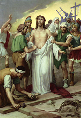 Station of the Cross 10