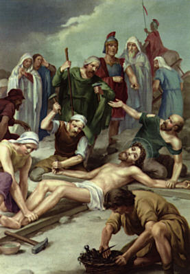 Station of the Cross 11
