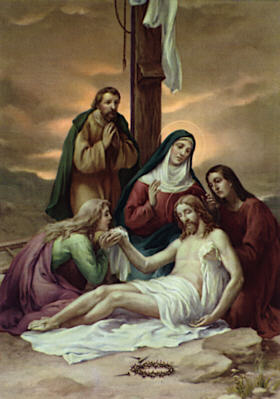 Station of the Cross 13